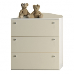 Baby Italia CHEST OF DRAWER IVORY